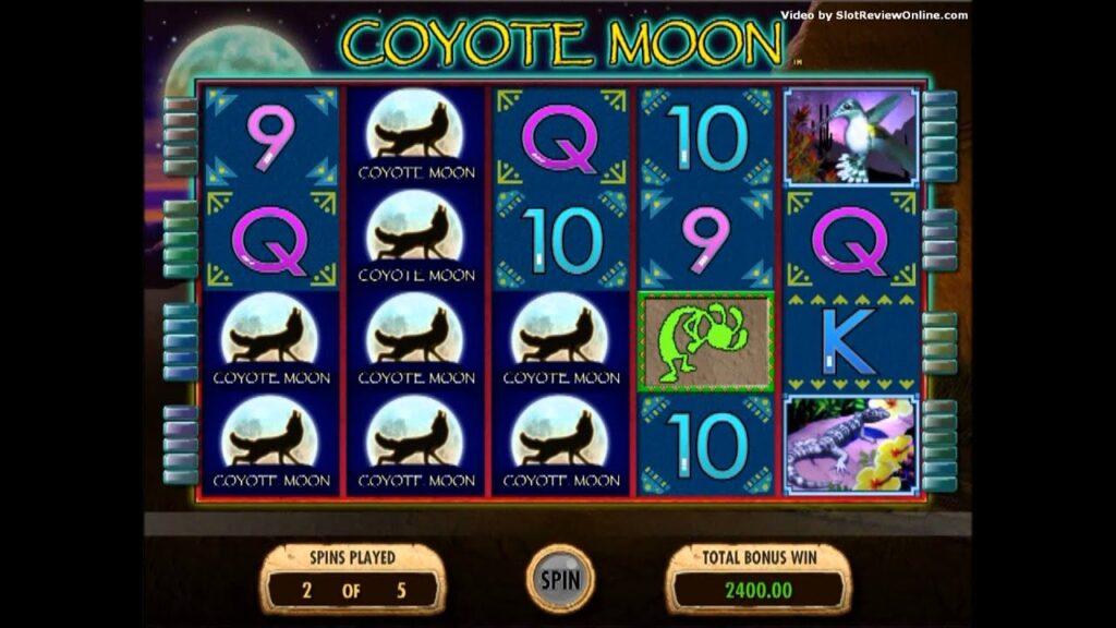 tragamonedas coyote moon
