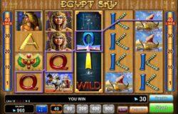 Máquinas tragamonedas Egypt Sky