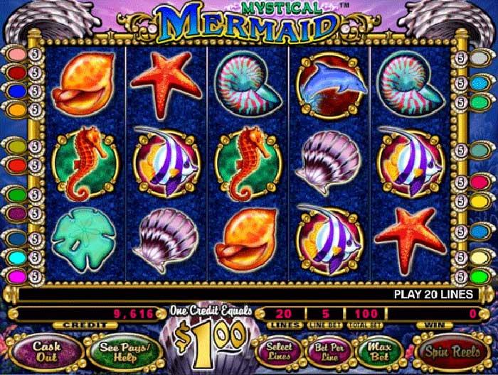 tragamonedas mystical mermaid